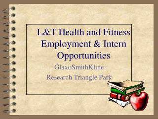LT Health and Fitness  Employment  Intern Opportunities