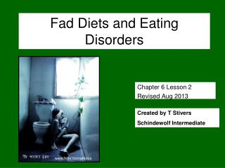 Fad Diets and Eating Disorders