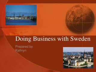 Doing Business with Sweden