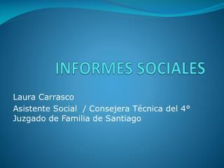 INFORMES SOCIALES