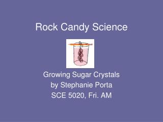 Rock Candy Science