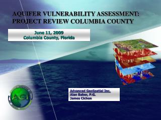 AQUIFER VULNERABILITY ASSESSMENT: PROJECT REVIEW COLUMBIA COUNTY
