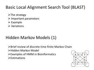 Hidden Markov Models  (1)