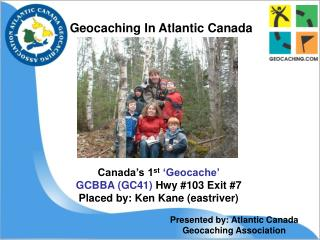 Geocaching In Atlantic Canada