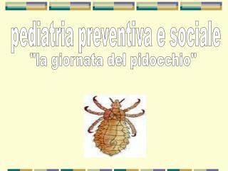 pediatria preventiva e sociale