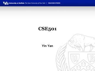 CSE501