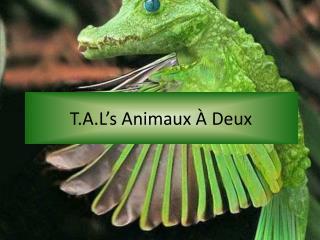 T.A.L's Animaux À  Deux