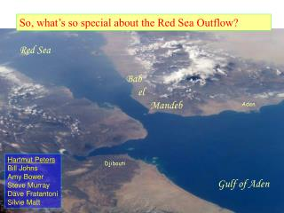 So, what's so special about the Red Sea Outflow?