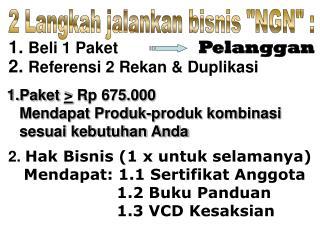 Paket  >  Rp 675.000     Mendapat Produk-produk kombinasi    sesuai kebutuhan Anda