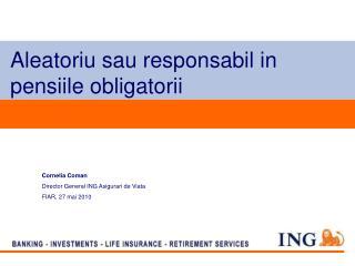 Aleatoriu sau responsabil in pensiile obligatorii