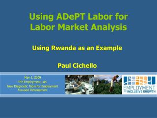Using ADePT Labor for Labor Market Analysis