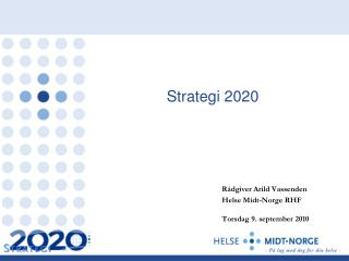 Strategi 2020