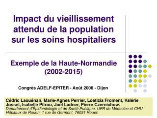 Congrès ADELF-EPITER - Août 2006 - Dijon