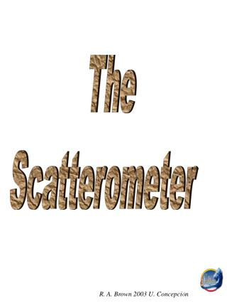 The  Scatterometer