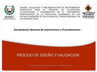 PROCESO DE DISEÑO Y VALIDACION
