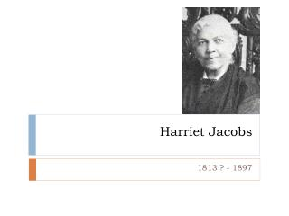 essay on frederick douglass and harriet jacobs Title length color rating : essay about slavery: harriet jacobs and frederick douglas - men and women's treatment has been different as long as the two.