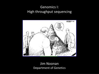 Genomics I: High throughput sequencing