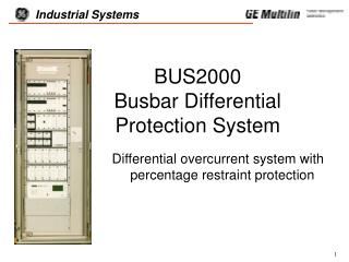 BUS2000   Busbar Differential  Protection System