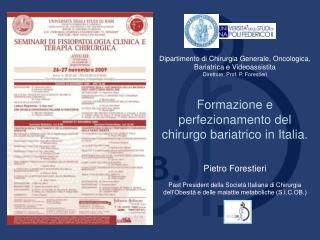 Dipartimento di Chirurgia Generale, Oncologica, Bariatrica e Videoassistita
