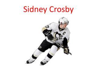 Sidney  C rosby