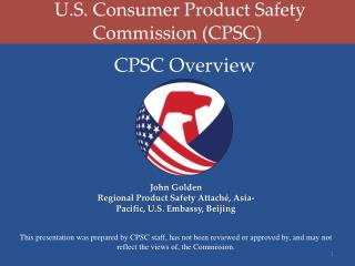 U.S. Consumer Product Safety Commission (CPSC)