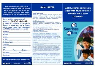 Sobre UNICEF