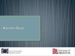 Karma  Quiz