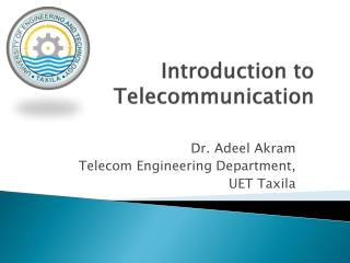 Introduction to Telecommunication