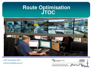 Route Optimisation JTOC