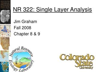 NR 322: Single Layer Analysis