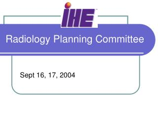 Radiology Planning Committee