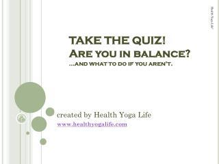 created by Health Yoga Life