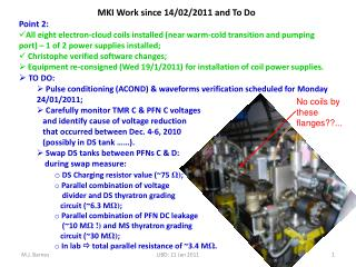 MKI Work  since 14/02/2011 and To Do Point 2: