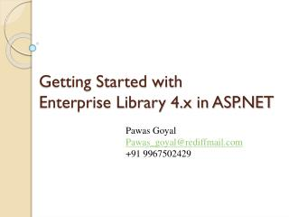 Getting Started with Enterprise Library 4.x in ASP.NET