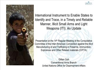 Programme of Action on small arms