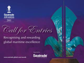 What are the Seatrade Awards ?