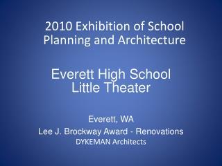 Everett High School Little Theater