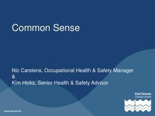 What's Common Sense?