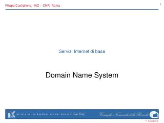 Servizi Internet di base