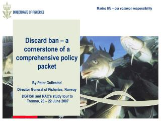 Discard ban – a cornerstone of a comprehensive policy packet