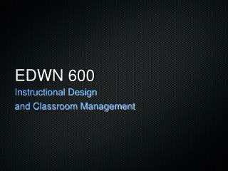 EDWN 600