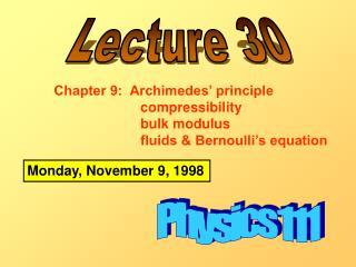 Physics 111