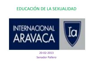 EDUCACI�N DE LA SEXUALIDAD
