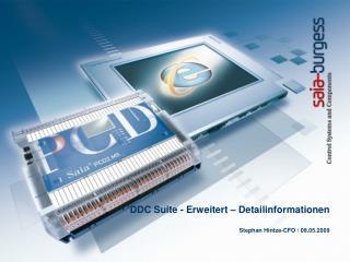 DDC Suite - Erweitert – Detailinformationen