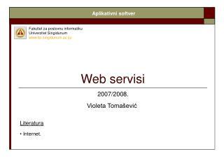Web servisi