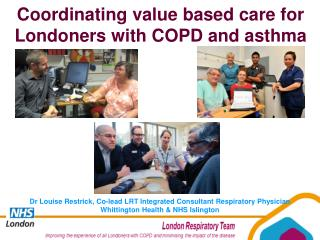 Coordinating value based care for Londoners with COPD and asthma