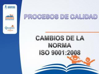 PROCESOS DE CALIDAD