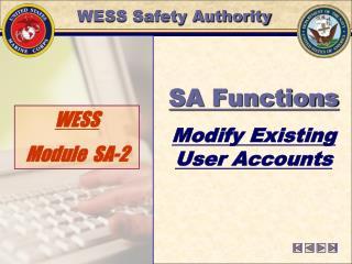 WESS  Module  SA-2