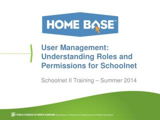 User Management:  Understanding Roles and Permissions for Schoolnet