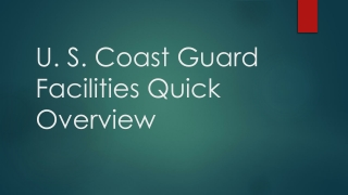 U. S. Coast Guard  Regulatory